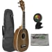 MA-P Mahogany Pineapple Ukulele Bundle
