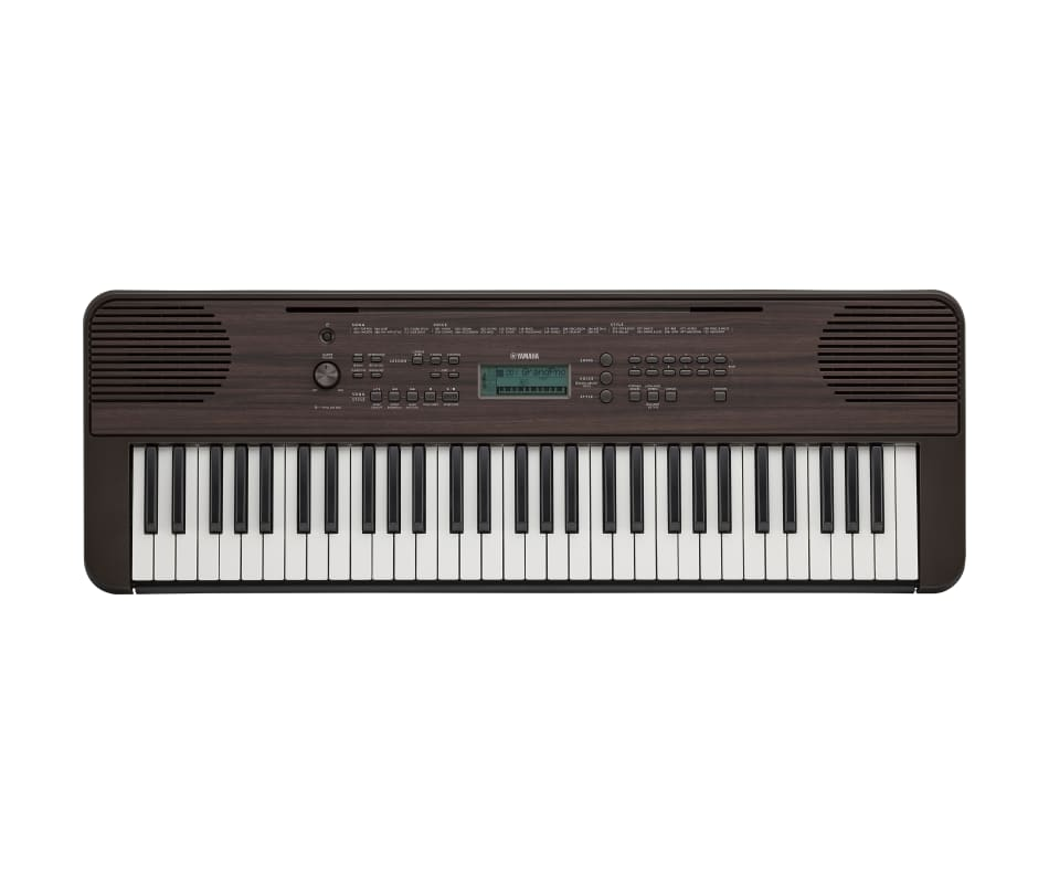 Yamaha PSRE360DW Portable Keyboard - touch sensiti