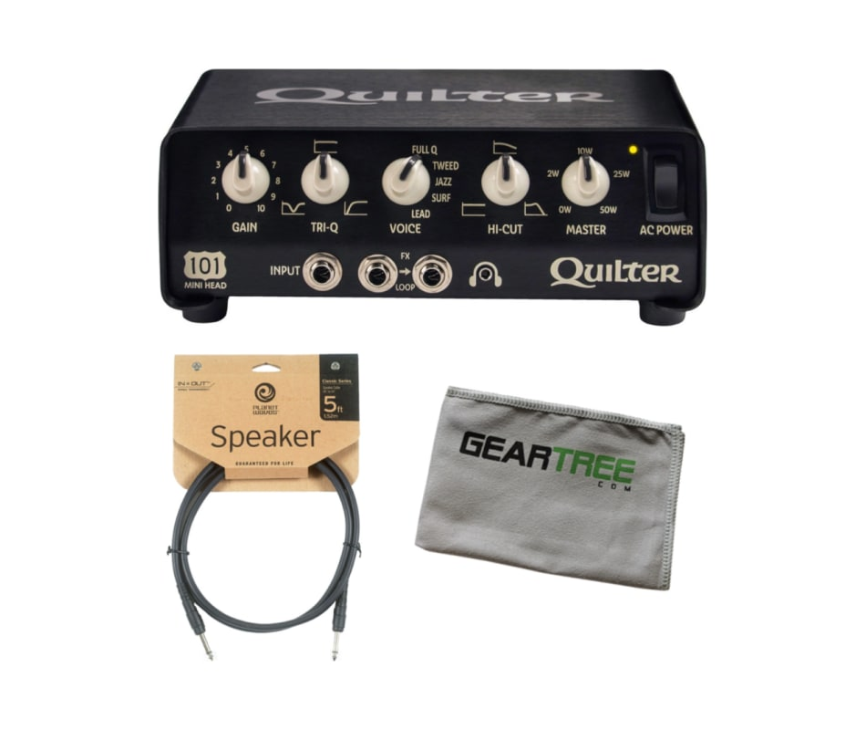101 Mini Head Guitar Amplifier Head Bundle