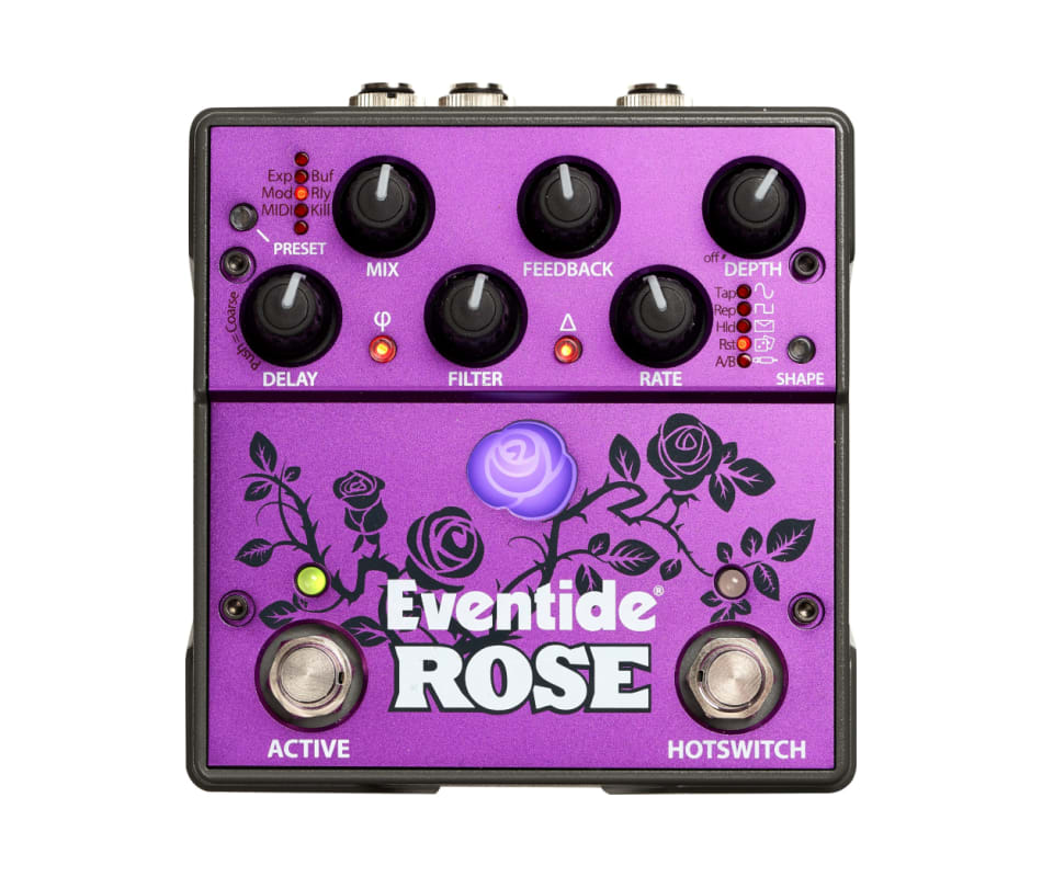 Eventide Rose Modulated Digital Delay Pedal