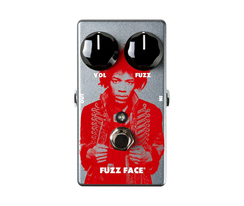 JHM5 Jimi Hendrix Fuzz Face Distortion Pedal
