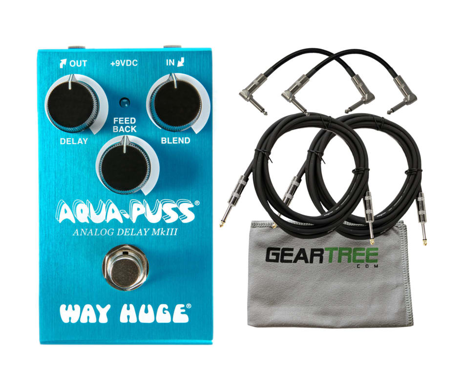 Way Huge WM71 Mini Aqua-Puss Analog Delay Pedal Bu