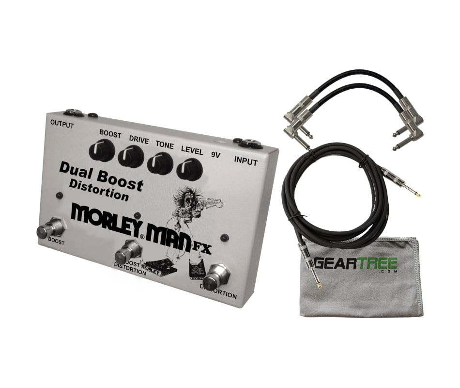 MDB2 Dual Boost Distortion Guitar Pedal Bundle