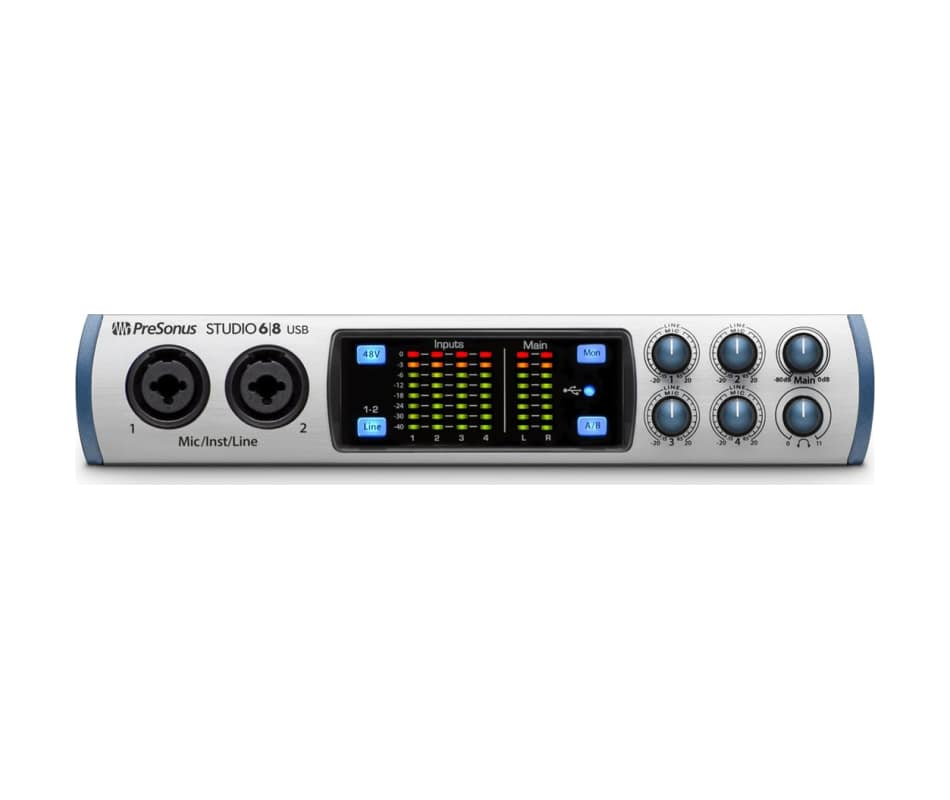 Presonus Studio68 6x6 USB High-Def Audio Interface