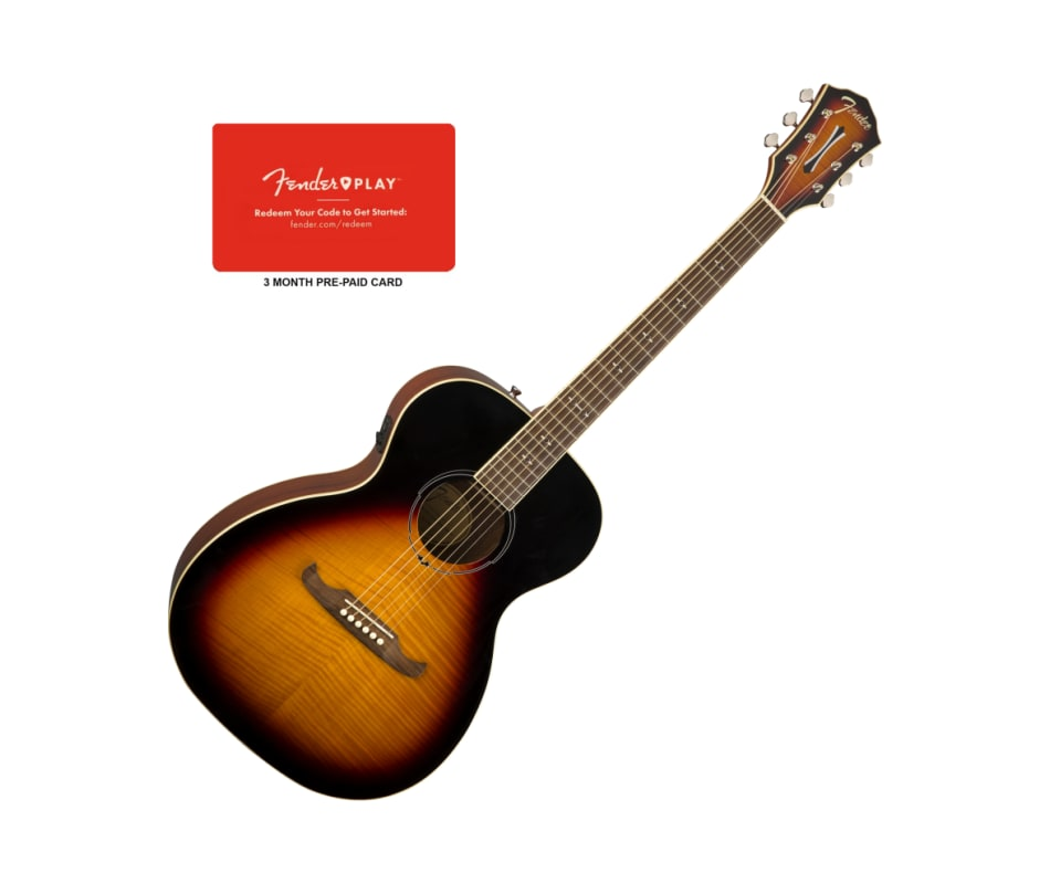 Fender FA-235E Concert Sunburst Acoustic-Electric