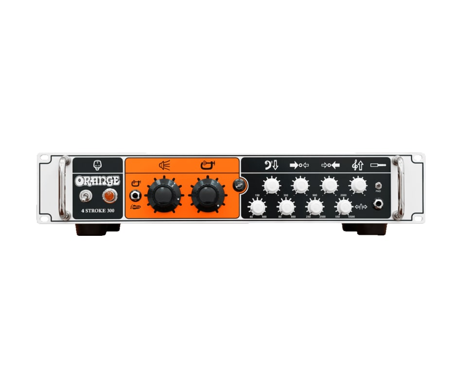 Orange 4 Stroke 500 Watt Bass Amplifier Head