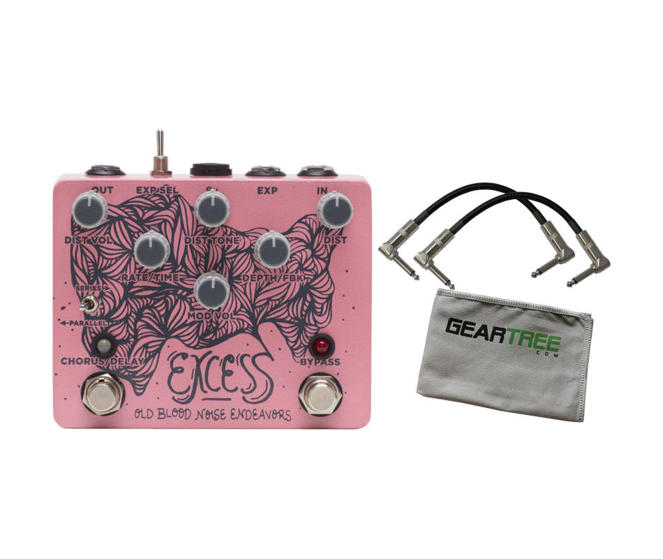 Old Blood Noise Excess Chorus/Distortion/Delay Eff