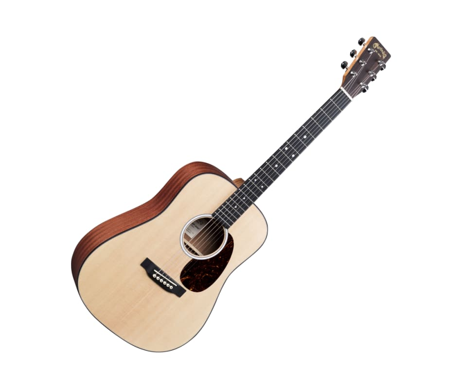 Martin D Jr-10-02 Acoustic Guitar Sitka Spruce Top
