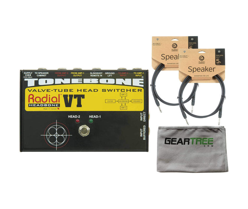 R800 7082 Headbone VT Tube Head Switcher Bundle