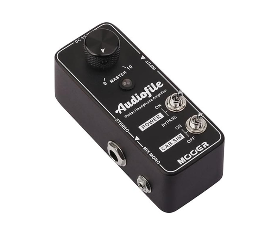 Audiofile Pedal-Style Headphone Amplifier