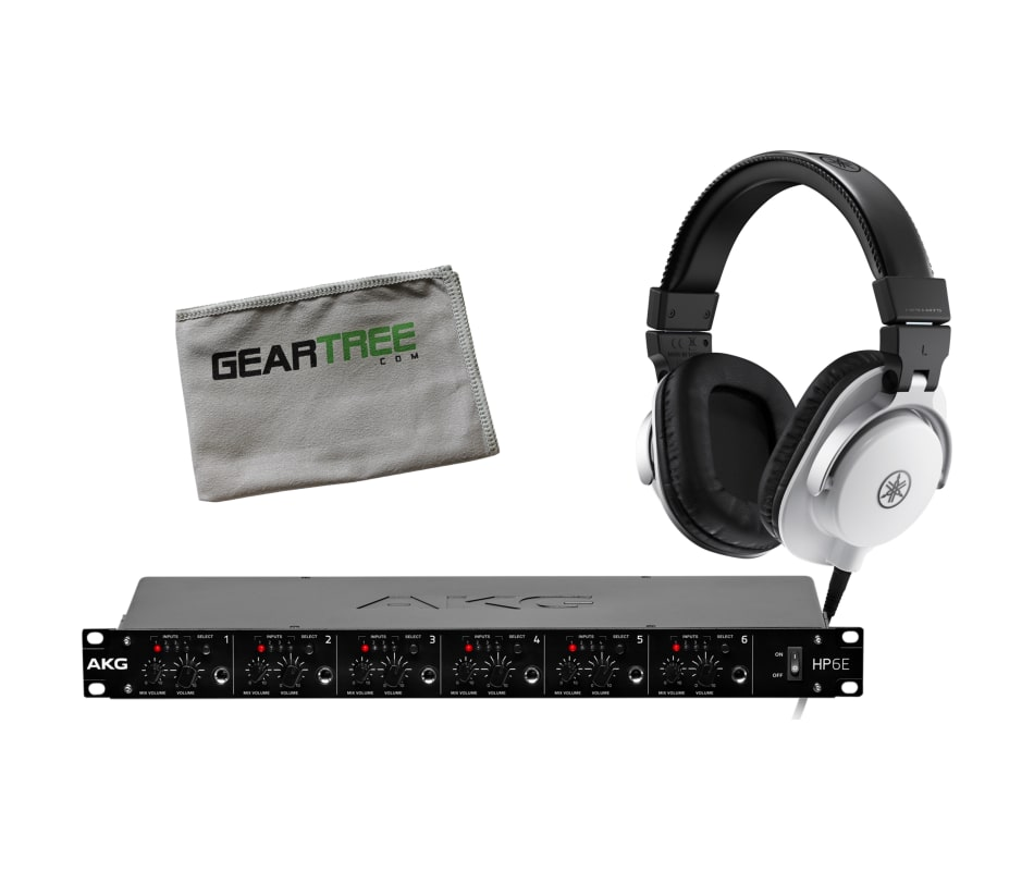 HPH-MT5W Studio Monitor Headphone Bundle