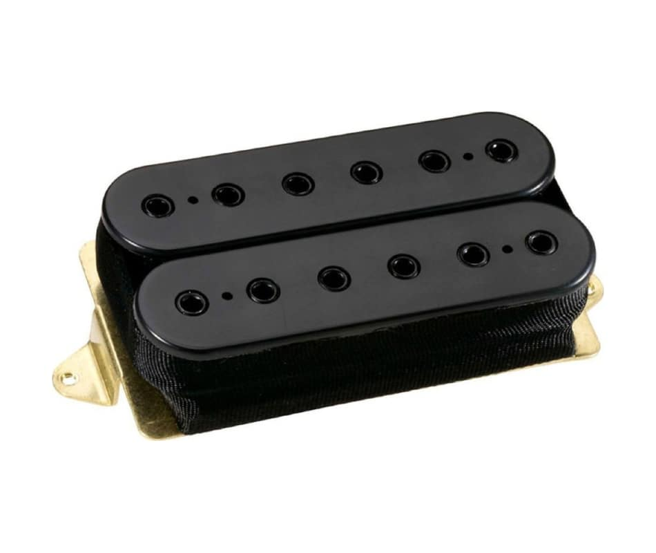 Dimarzio DP272FBK Imperium F-Spaced Black Bridge P