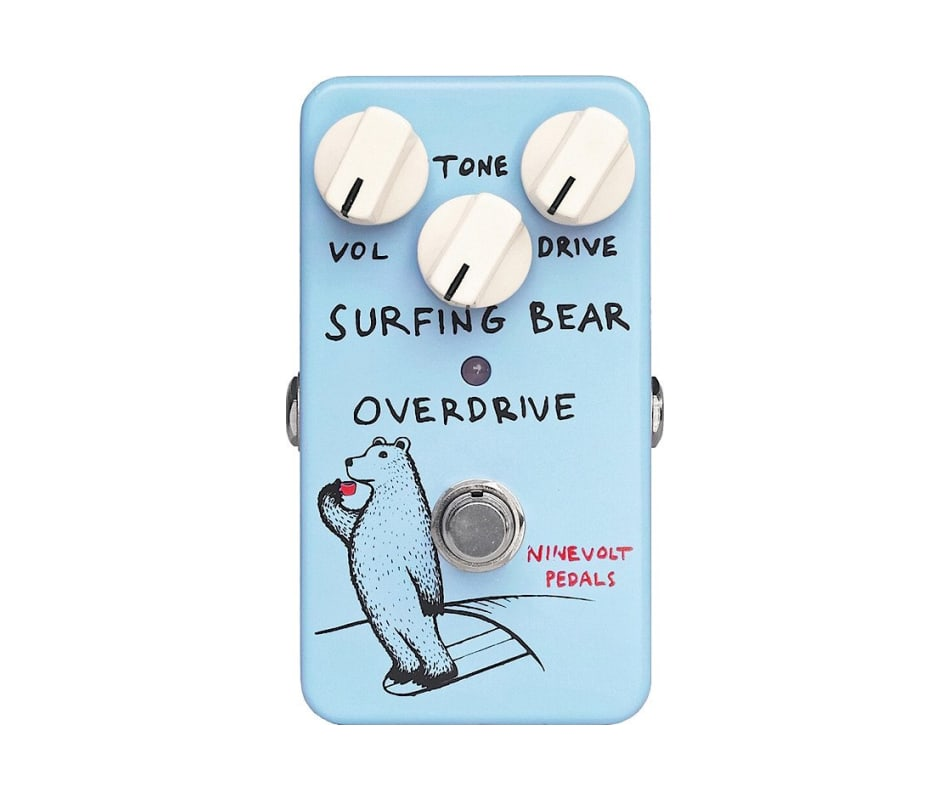 Animals Surfing Bear Overdrive Classic 808-inspire