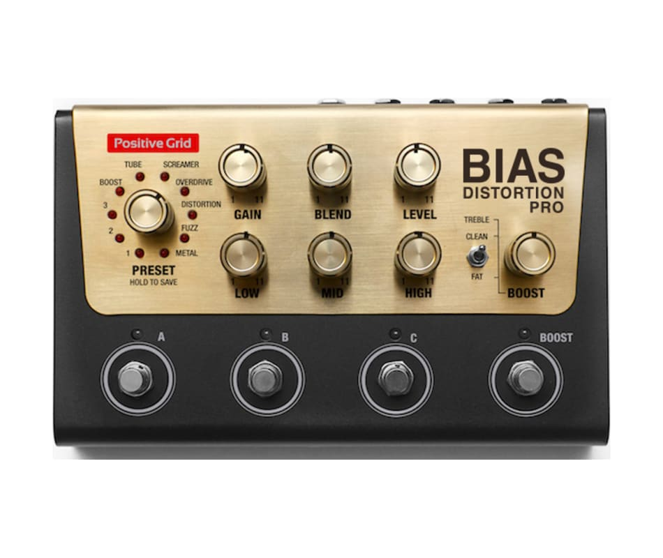 BIAS Distortion Pro Customizable Effect Pedal