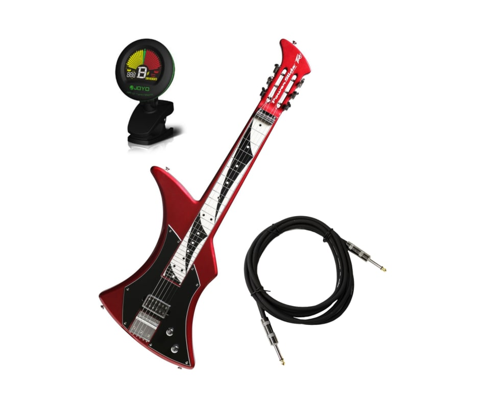 peavey power slide electric lap steel guitar burgundy w cable and tuner. Black Bedroom Furniture Sets. Home Design Ideas