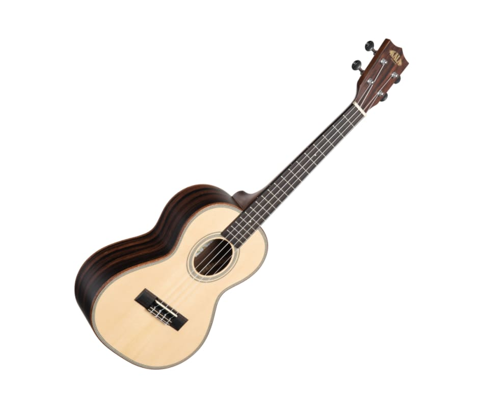 Kala KA SSEBY T Solid Spruce Top Striped Ebony Ten