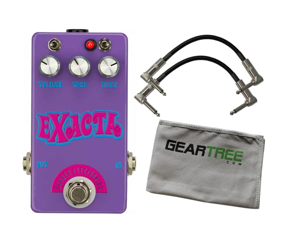 Barber ElectronicsExacta Fuzz Effects Pedal w/ 2 C