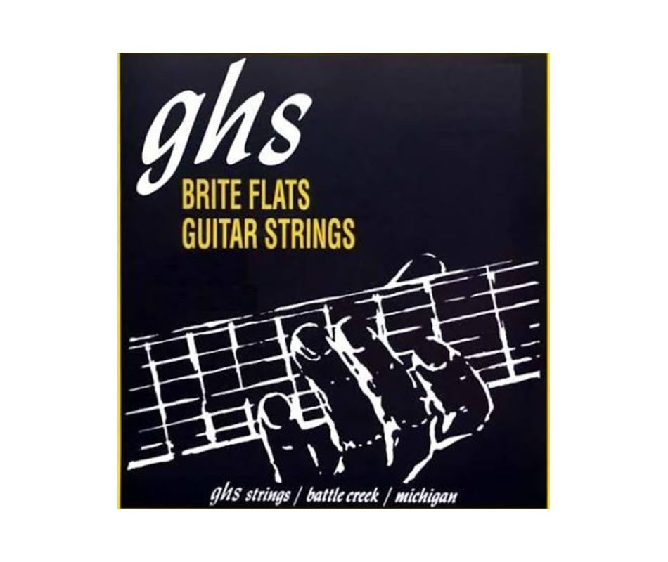 Brite Flats Light Electric Guitar Strings 10-46