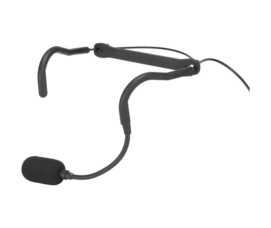 Samson QEX Fitness Headset Microphone, 1/8IN, Hiro