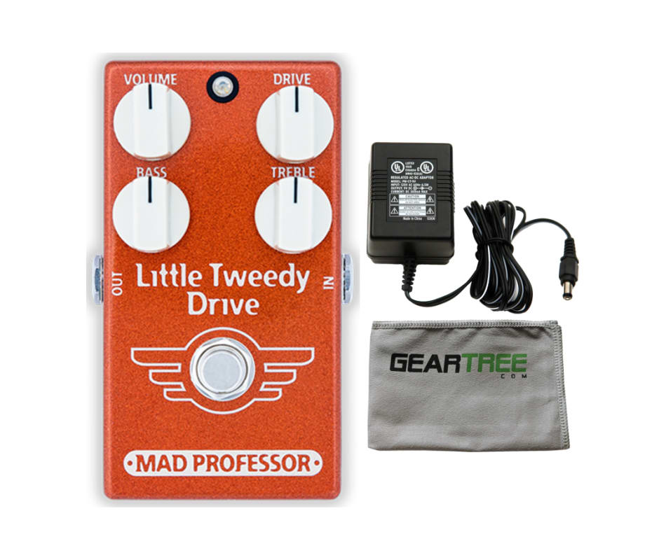 Mad Professor Little Tweedy Drive Effect Pedal Bun