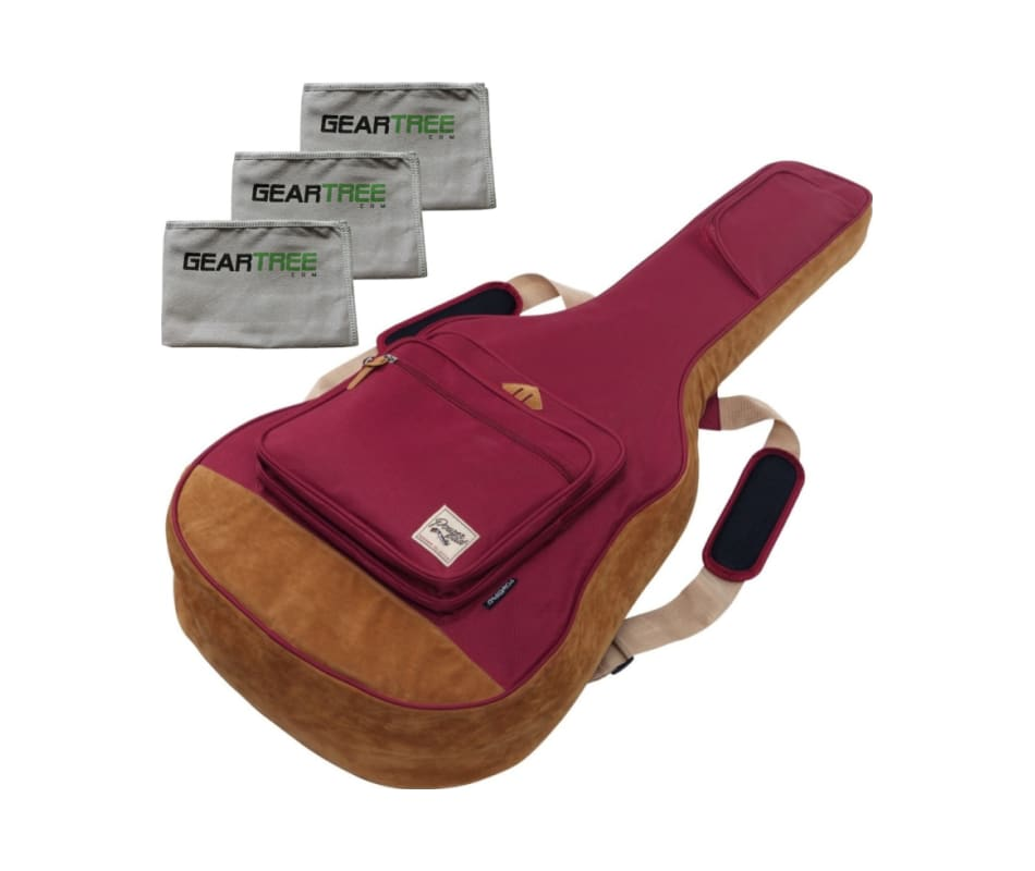 Ibanez IAB541WR POWERPAD Acoustic Gig Bag Wine Red