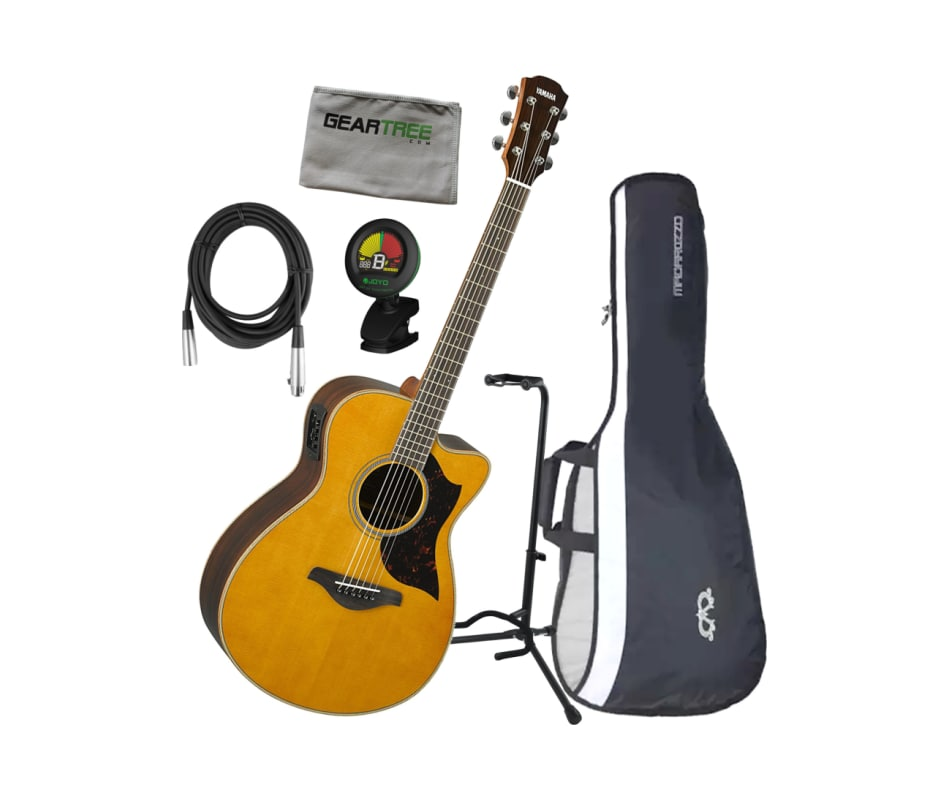 AC1R Small-Body Concert A/E Guitar Bundle