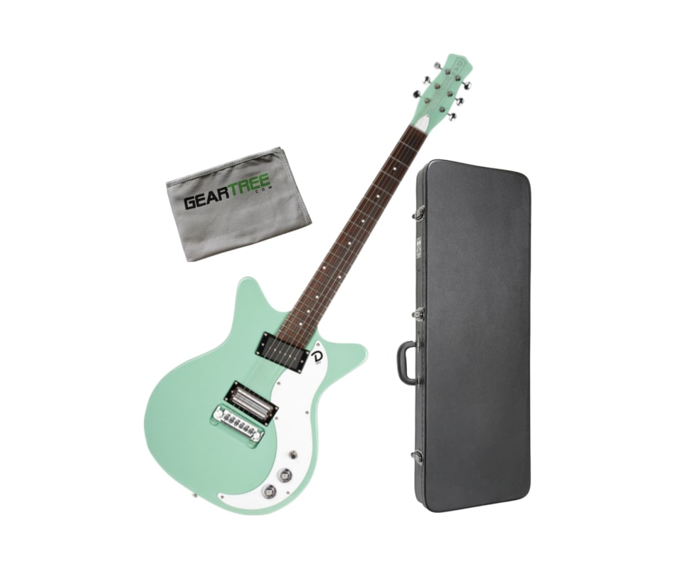 Danelectro '59X Shorthorn Light Aqua Body Electric