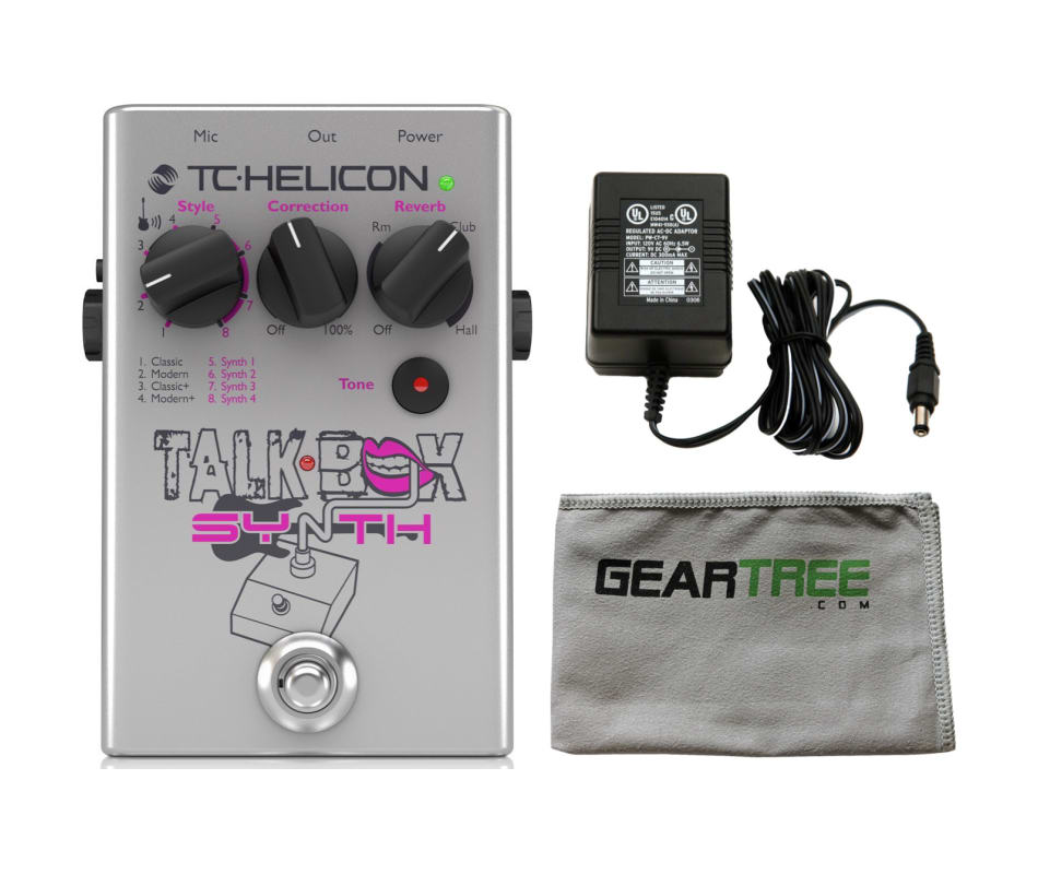 Talkbox Synth Guitar Effect Pedal Bundle