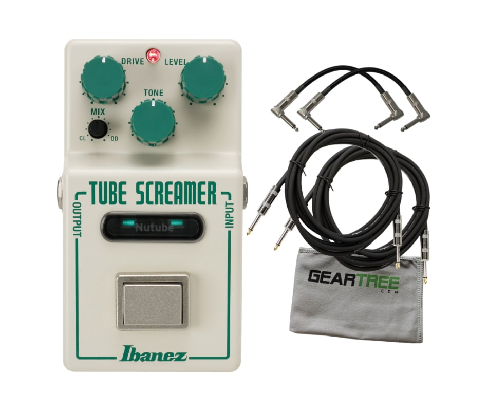 Ibanez NTS NU Tube Screamer Limited Edition Tube S
