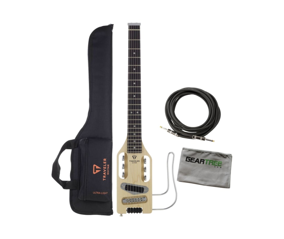 Traveler Guitar Ultra-Light Full-Scale Natural Ele