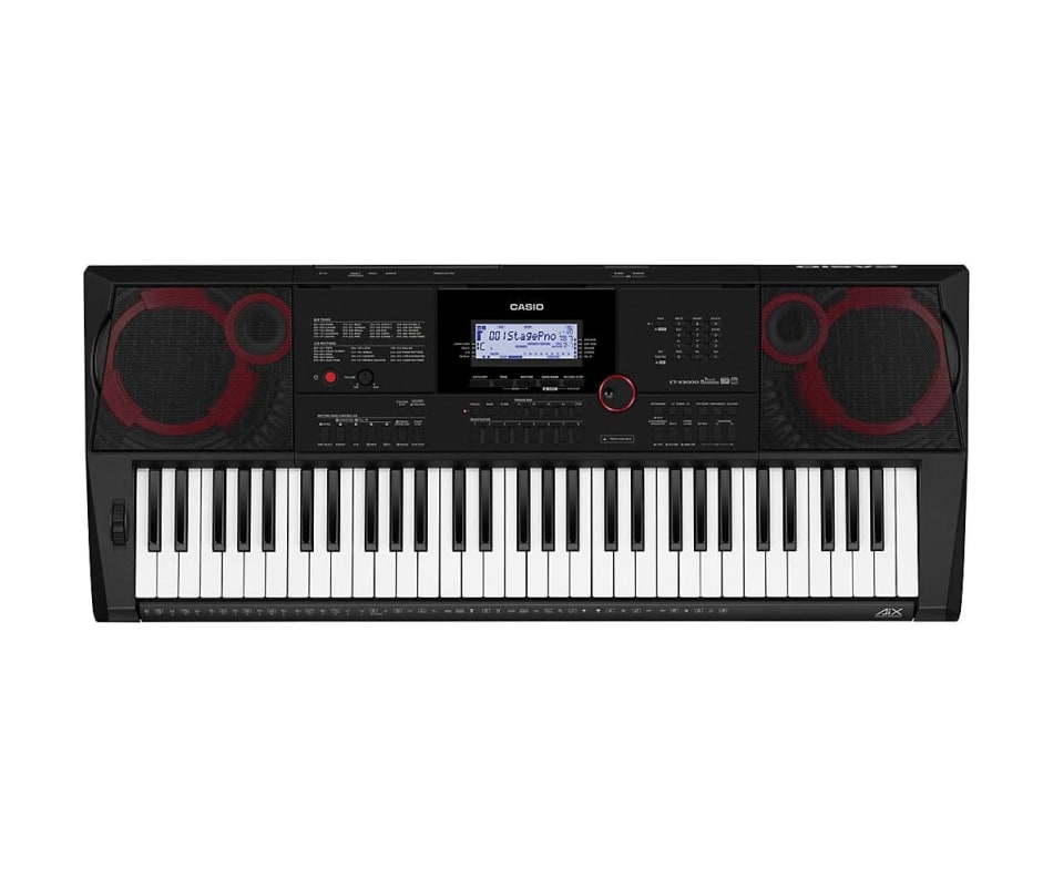 Casio CT-X3000 High-Grade 61-Key Touch Response Po