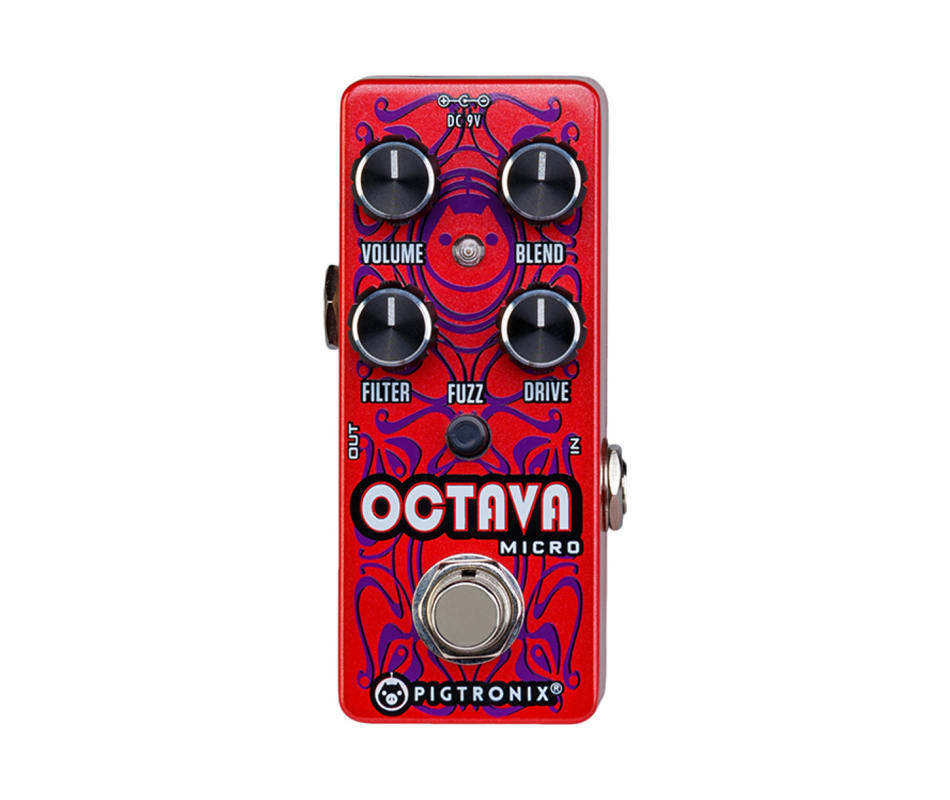OCT Octava Micro Octave Effect Pedal