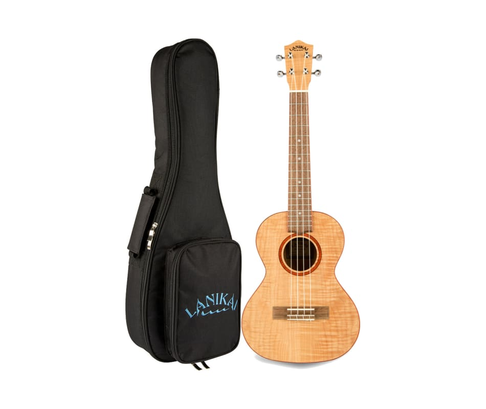FM Flame Maple Ukulele with Gig Bag