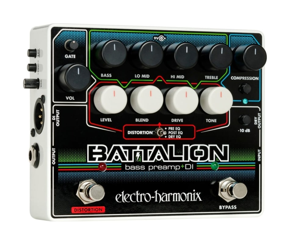 Battalion Bass Preamp and DI Effect Pedal
