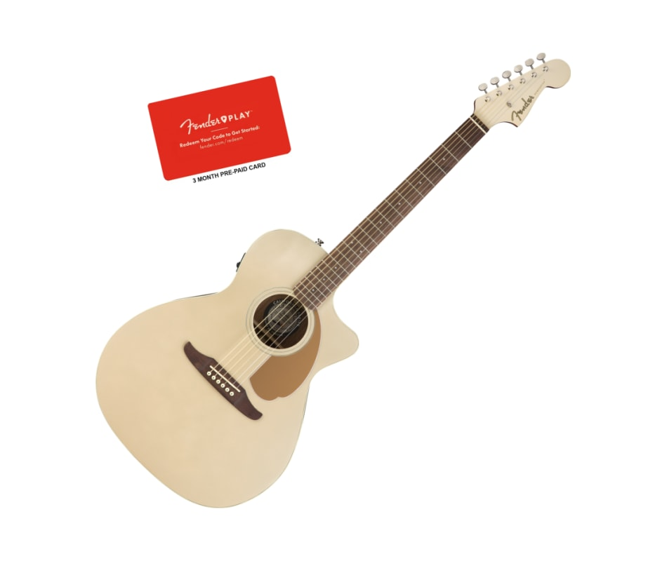 Fender Newporter Player Champagne Acoustic-Electri