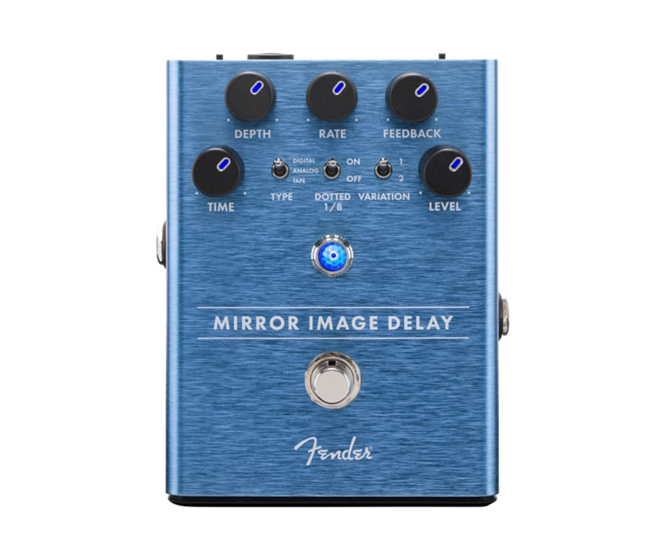 Mirror Image Delay Guitar Effect Pedal
