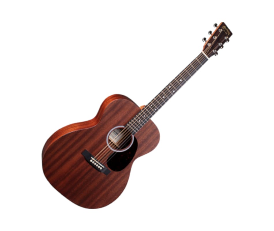 Martin 000-10E solid-wood with Fishman MX-T Electr