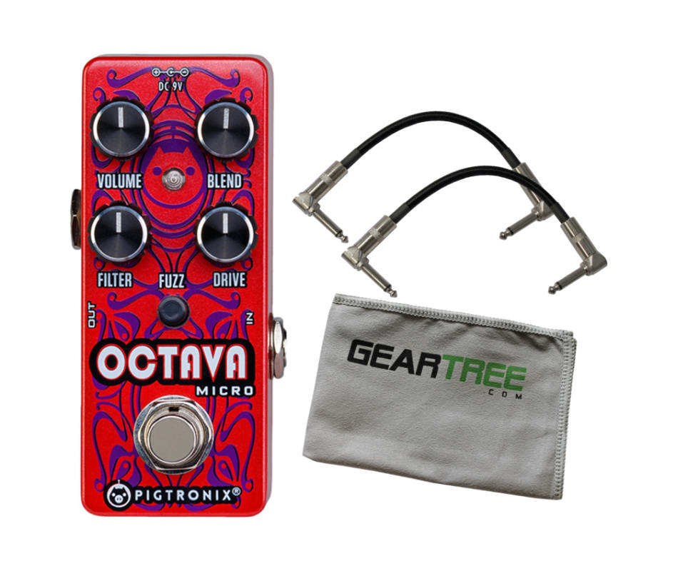 Pigtronix OCT Octava Micro Octave Effect Pedal w/2
