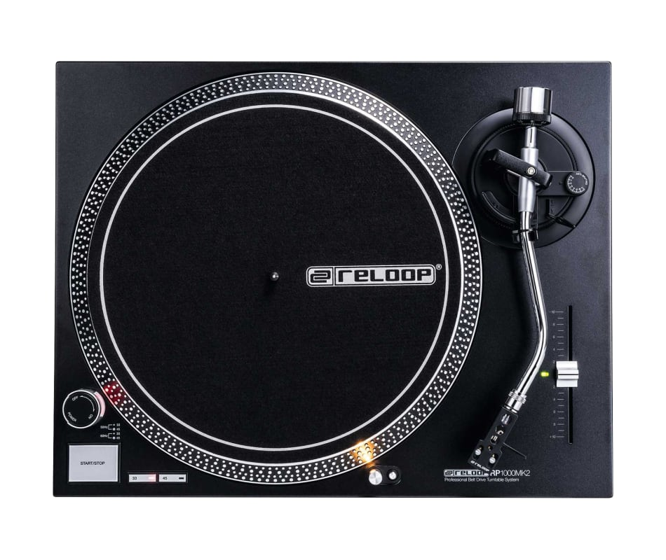 Reloop RP-1000-MK2 Direct Drive Turntable w/ Needl