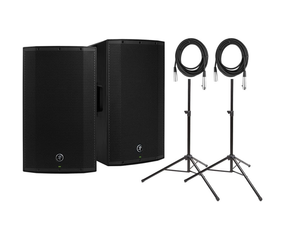 Thump 15BST Advanced Powered Loudspeaker Bundle