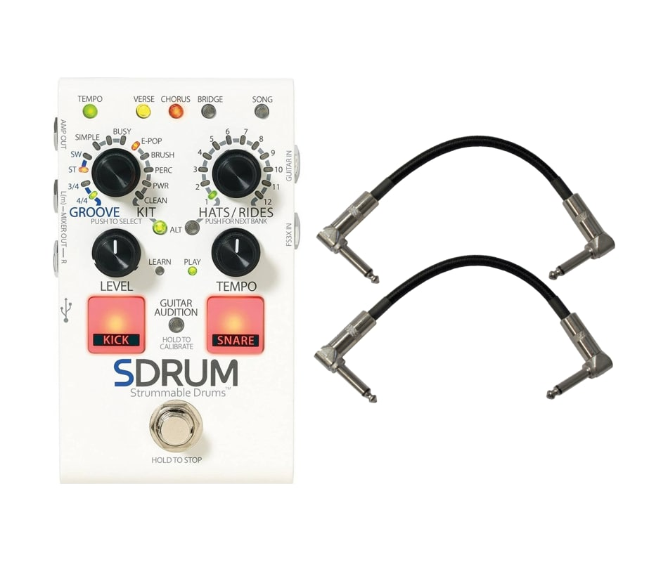 Digitech SDRUM Strummable Drums Automatic Drummer