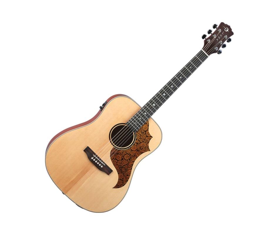 AMT100 Americana T Leather P Guard A/E Guitar