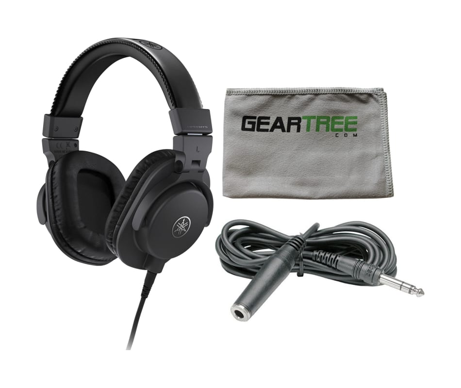 HPH-MT5 Closed-Back Monitor Headphones Bundle