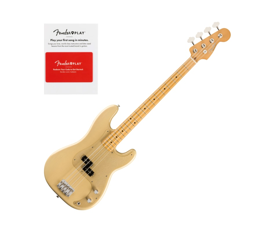 Fender Vintera 50s Precision Bass, Maple Fingerboa