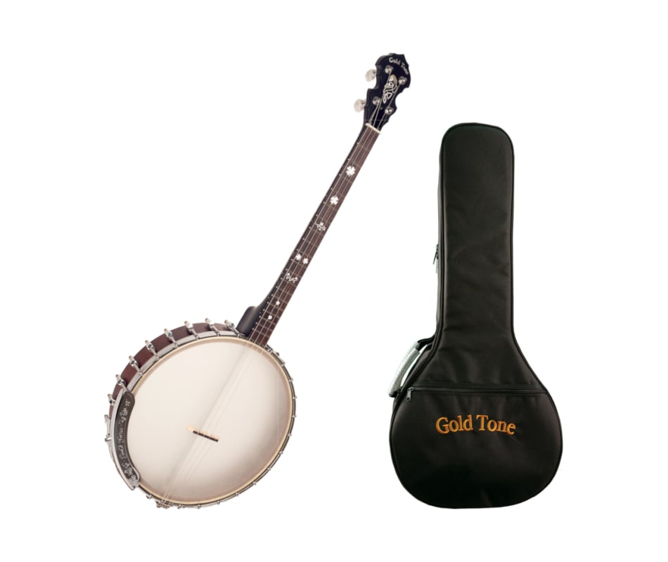 Goldtone IT-19 Irish Tenor Banjo w/ Bag