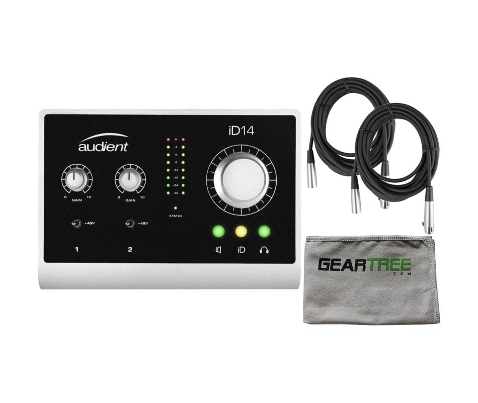 iD14 2-Channel USB Audio Interface Bundle