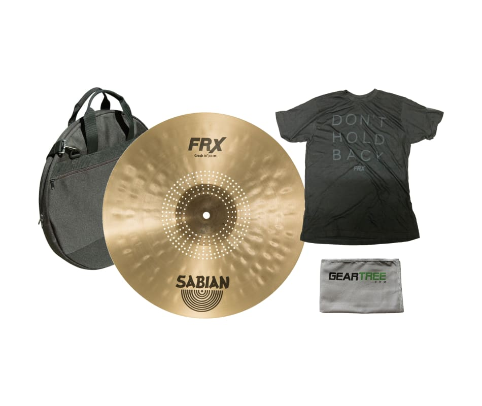 Sabian FRX1606 16'' FRX Crash Cymbal w/ Bag, XL Sh