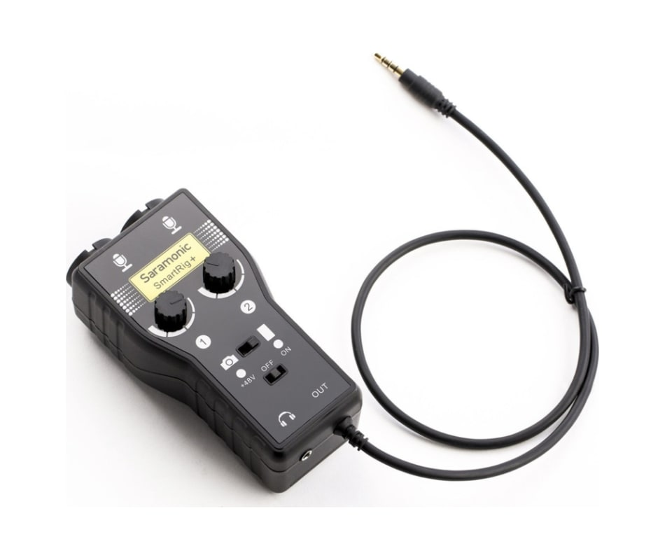 SmartRig+ 2-Channel Mic/Inst. Camera Mixer