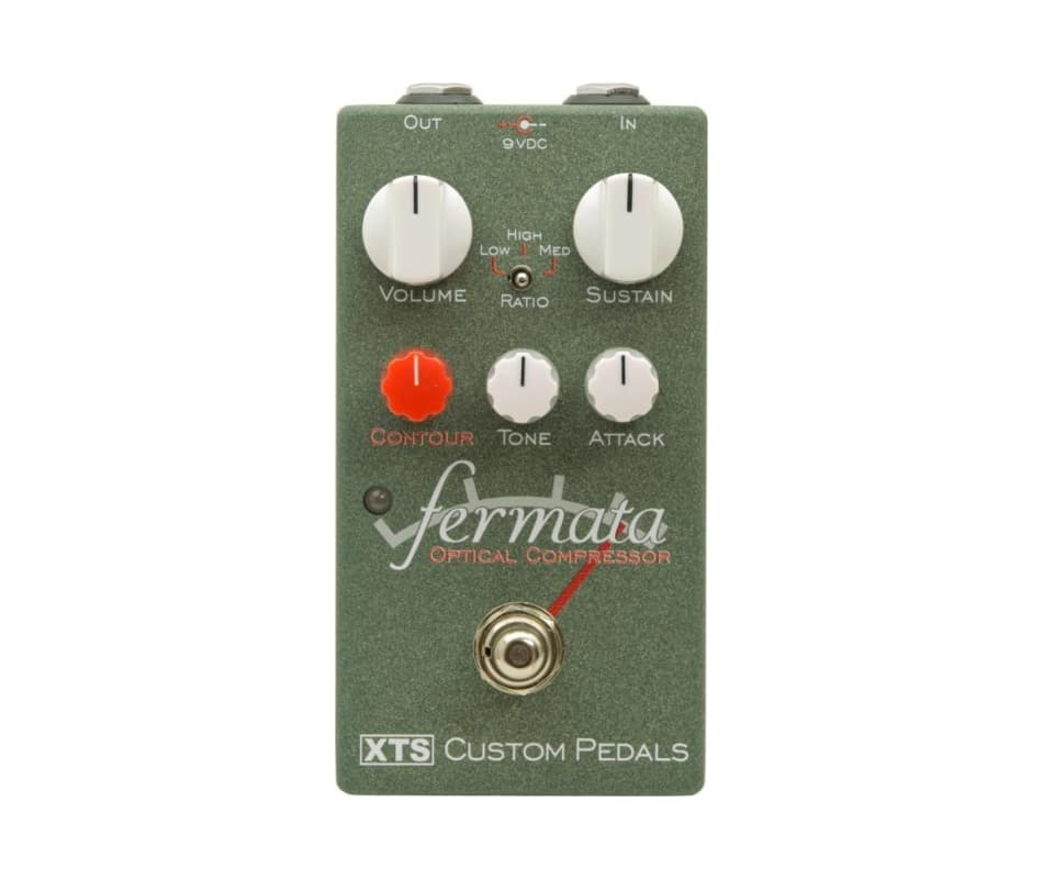 XTS Fermata Optical Compresssor Effects Pedal