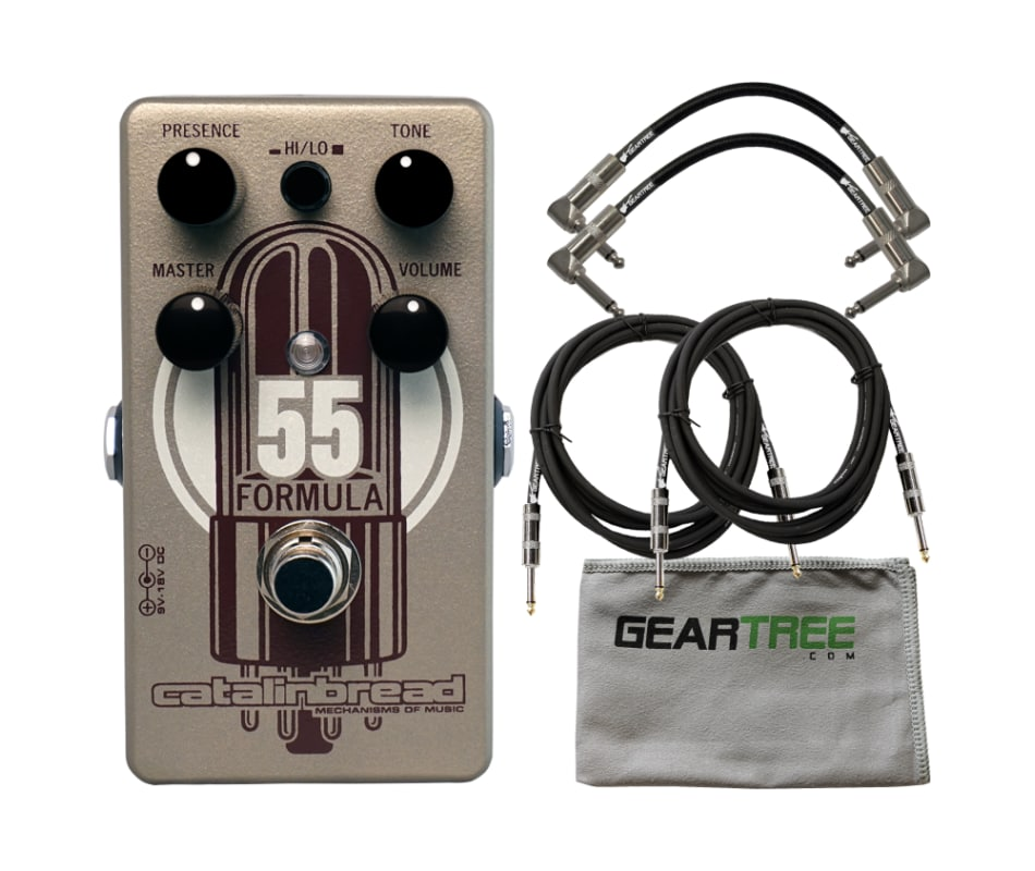 Formula No. 55 Foundation Overdrive Pedal Bundle